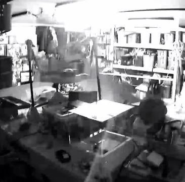 Garage Camera night vision