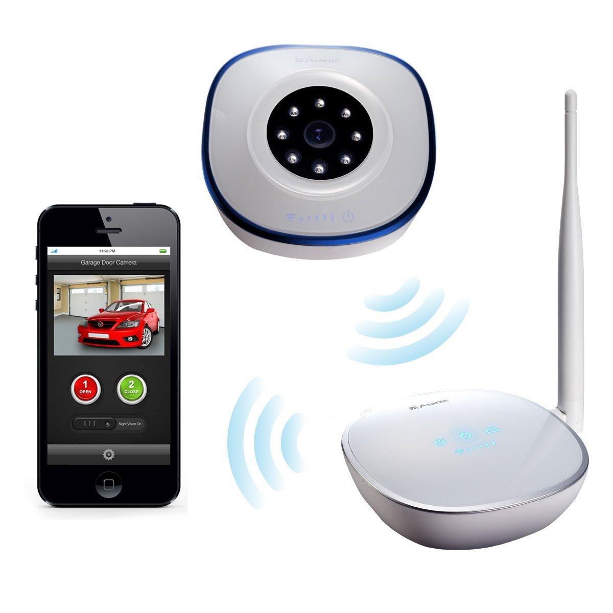 Garage Door Sensors Have No Lights: Garage Door Opener With Camera Kit + Sensor