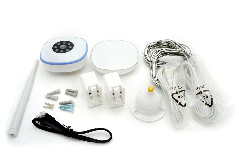 Asante - Garage Door Opener With Camera Kit + Sensor